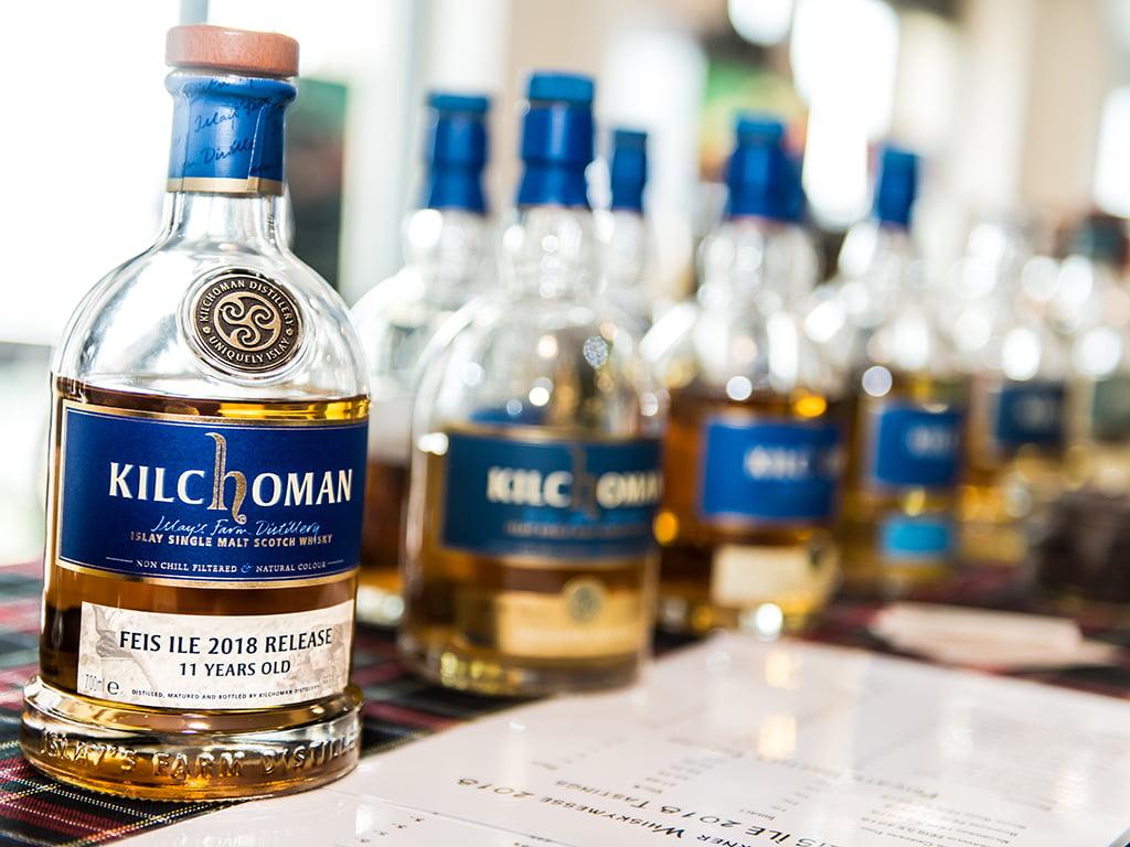 Kilchoman Flaschen